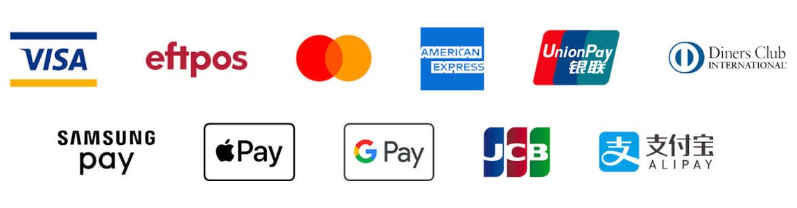 tyro-accepted-payments-logos