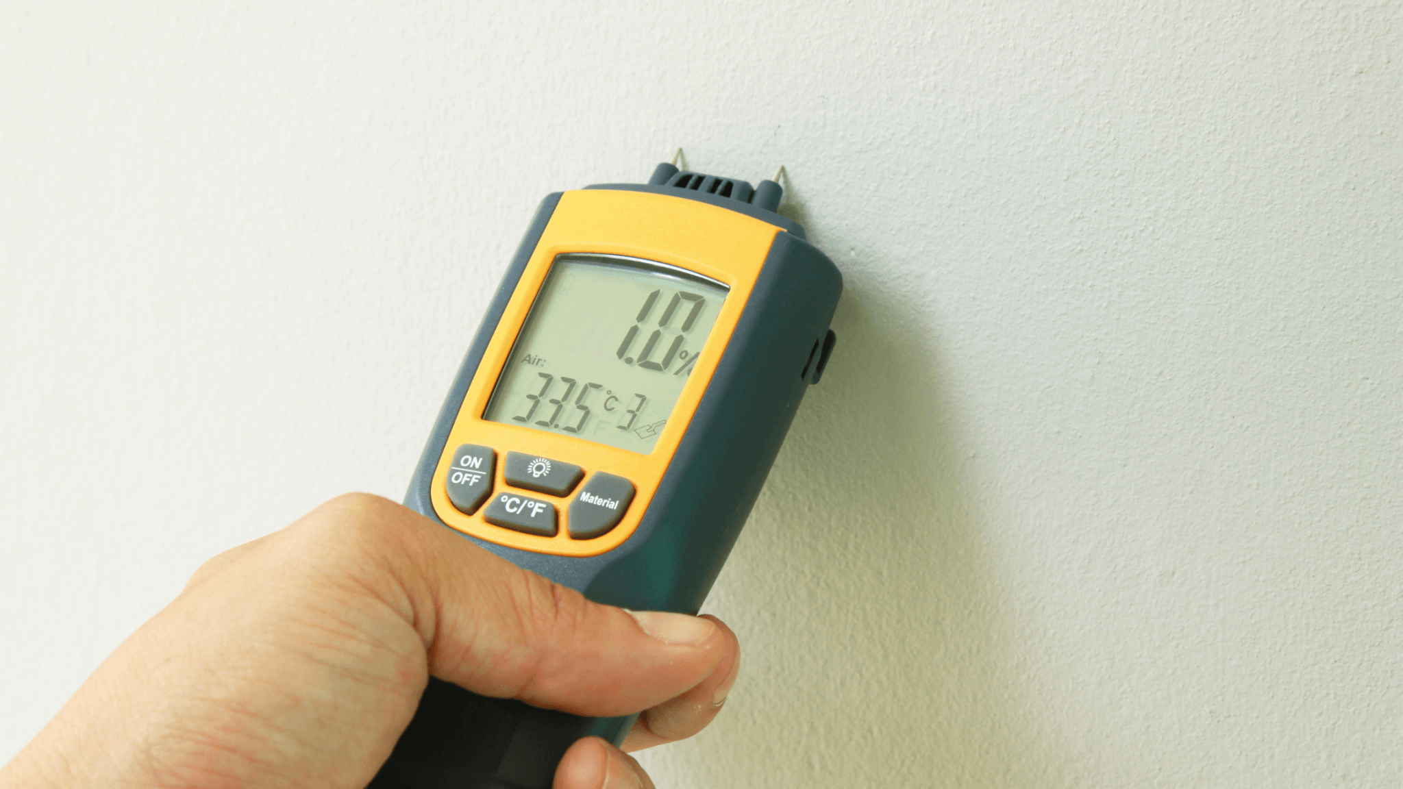 Moisture Meter IMAGE Why Your Building & Pest Inspector NEEDS These Two Tools