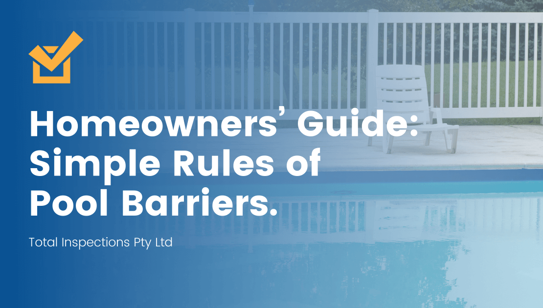 Simple Rules of Pool Barriers.
